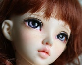 BJD eyes available in 12/14/16/18/20/22/24mm Cinnabar Smoke made to order