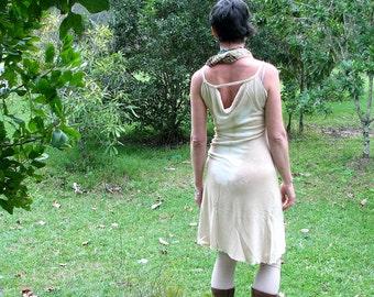 sexy eucalyptus dyed festival dress