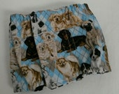 Male Doggie Diaper Padded Belly Band Elastic Sides Ready-Made USA Handmade Size 16-17 Inches