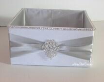 Wedding Box, Bling Program Box, Bubble Box, Wedding Basket  - Custom Made