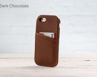The Traveler Case for iPhone 6Plus/6S Plus - Chocolate