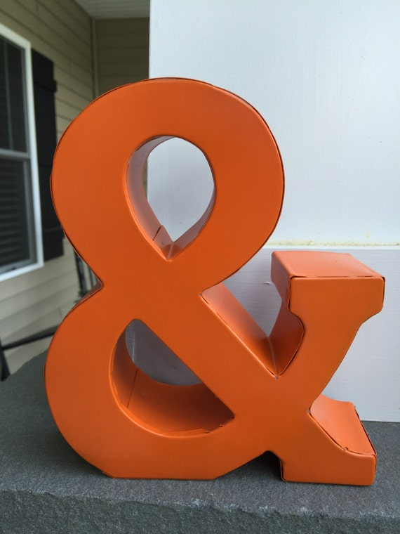 metal letter wall art ampersand metal letters wall decor wall metal letter 13994 | il 570xN.987615366 20m6