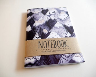 Notebook, Jotter, Mini Sketchbook | Mountains