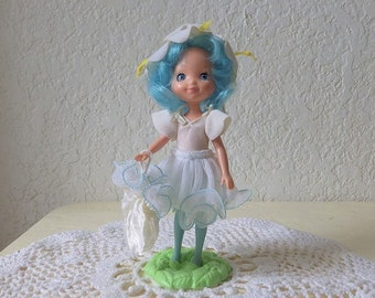 Rose Petal Place doll, LILY FAIR,  Wearing her original outfit. Comes with stand.  1984