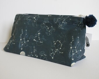 Constellations Zipper Bag Large