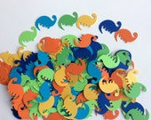 108 Dinosaur die cut confetti dinosaur table decoration