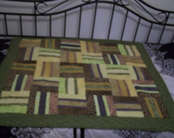 Quilted Lap Throw