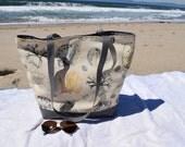 Beach Tote Bag Sea Shells