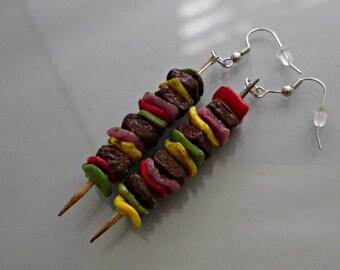 Shish Kabob Earrings