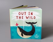 Out In The Wild by Oliver Lake ~ Signed Children's Book ~ Animal Book ~ Picture Book ~ Kids Book ~ LiMiTED STOCK