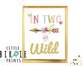 IN TWO the Wild Birthday Party In two the wild birthday party decorations 2nd Birthday Arrow Teepee Tribal Birthday party