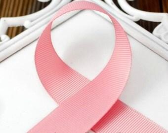 Peony 2-1/4 inch Ribbon - Choose from 1-50 yd - Medium Pink Grosgrain Ribbon - Hairbow Supplies, Etc.