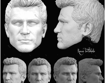 One of a Kind Nathan Uncharted 4 version head 1/6th scale