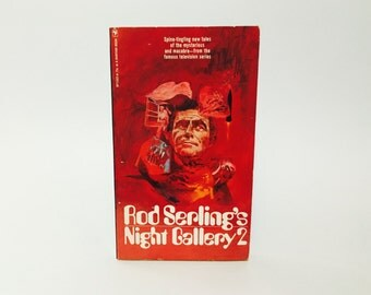 Vintage Sci Fi Book Rod Serling's Night Gallery 2 1972 Paperback Anthology