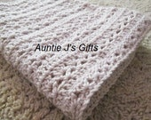 "Easy crochet PATTERN for beautiful afghan throw, 41""x60"", style #62616"