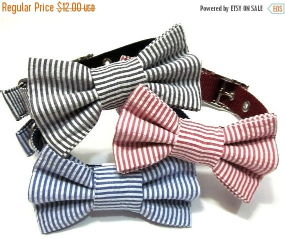 BIG SALE Bowtie Only.... Dog Bowtie, Bow tie Dog Collar, Dog Collar Bow,  Bowtie,  Bow Tie Attachment, Bowtie Dog Collar - CHOOSE Your Style