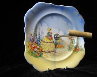 Lancaster & Sons Crinoline Lady Cake Plate
