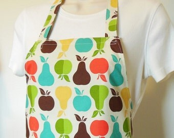 Full Apron - Apples and Pears