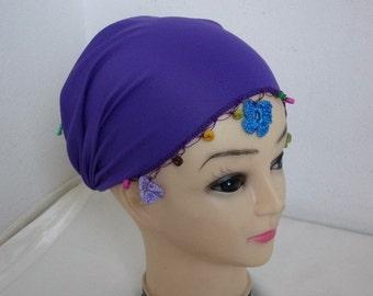 Floral Headband,Turban,Wood Bead,Yoga,Gym Turband,Hair Wrap,Fabric Hairband, Fashion,Gift Ideas For Her,Women Fashion Accessories,head cover