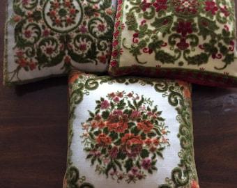 Vintage Velvet Decorative Pillow