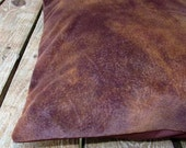 Pet Bed Cover Duvet, Faux Brown Suede & Brown Twill, Canine Cloud Dog Bed Cover 24 x 18, Pet Furniture, Gift
