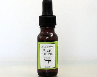 Rich Hippie Essential Oil Blend, Sandalwood, Patchouli, Hippie Gift