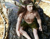 MidDreamers Ooak Male Forest Fairy Nicolaus on Sale now