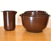 Mid Century Rosti Mepal Melamine Bowl Set
