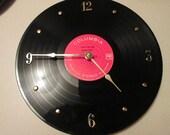 Johnny Cash 33 Record Clock I Walk The Line