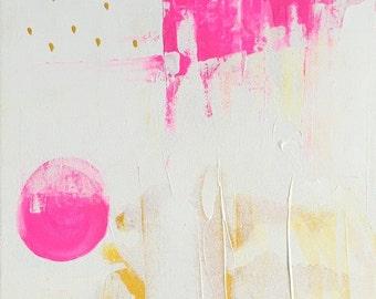 Original Acrylic Painting - Summer Play