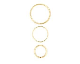 Gauged Hoops Brass