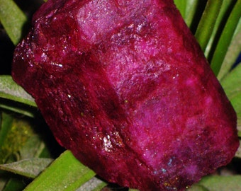 "RARE HUGE Blood Red Raspberry Rough Bixbite - ""Scarlet Emerald"" - Stone of Tiamat - Earth Star, Passion, True Love, Happiness, Protection"