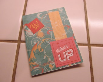Yo! What's Up -- Greeting Card, Hello