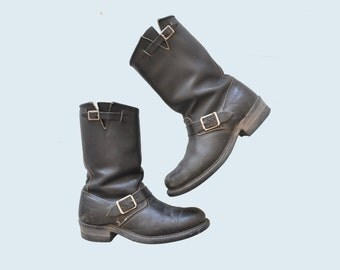 Carolina Motorcycle Boots size 9