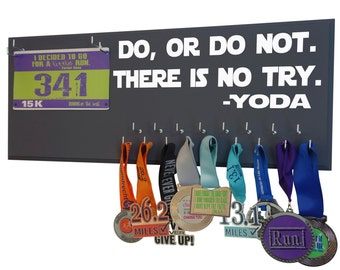 Disney running Medal holder -  Disney run - Star wars disney medal holder - star wars gifts - gifts for star wars fan - running
