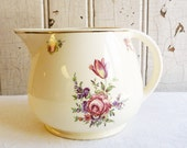 Vintage Homer Laughlin Kitchen Kraft Oven Ware Priscilla Pitcher - 1940s