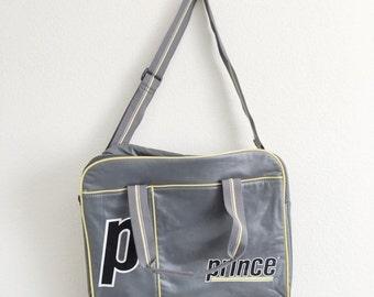 70% OFF CLOSING SALE Vintage 1980s/1990s Prince Tennis Gym Shoulder Duffle Vinyl Pvc Bag
