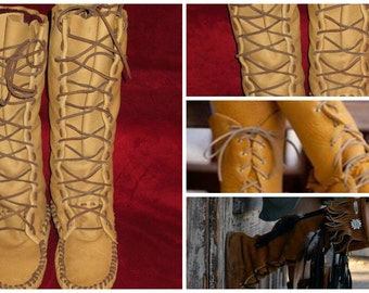 Size 5 Men's Moccasin Pattern-Boot