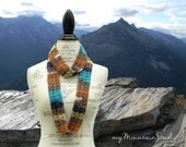 Women's Handmade Infinity Fashion Scarf - Grand Canyon
