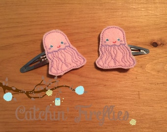Jellyfish clips for hair!
