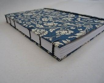 Florentine notebook A5 - Blue flowers
