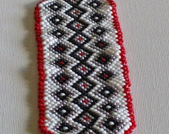 Beaded bracelet,  Native American Bracelet, Bead weaving Bracelet