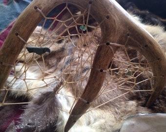 Deer Antler Dreamcatcher
