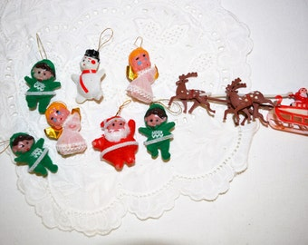 Vintage Christmas Kitsch Miniatures