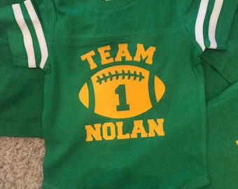 Football Birthday Shirts Birthday shirt Family Football Shirts Personalized, Customized This listing is for ONE shirt