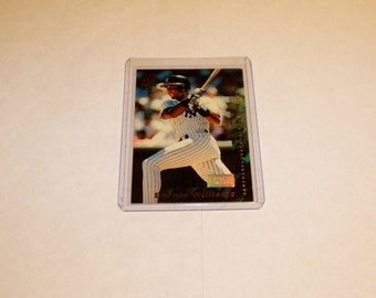Vintage 1994 Topps Team Stadium Club-NY Yankee Bernie Williams-1st Day Issue-Baseball Card