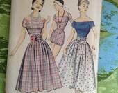 Vintage Advance 8313 Playsuit, Romper, Bloomer, Skirt Summer Wardrobe Sewing Pattern 31 Inch Bust