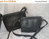 Summer Blow Out Lot of Coach Bags~Coach ~Coach Black Bag~Coach Navy Blue Bag Lot of 2 Coach Bags