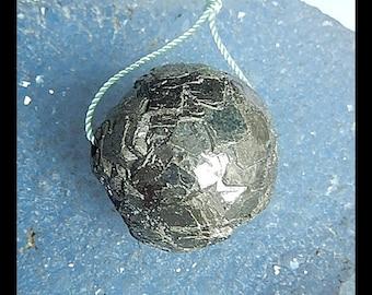 Pyrite Gemstone Pendant Bead,26x24mm,37.26g