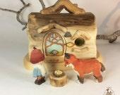 Willodel Little Fox , Tomten & Log Home